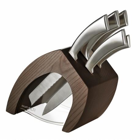 TRATTORIA Blok noży Tabacco + 5 noży Ergo