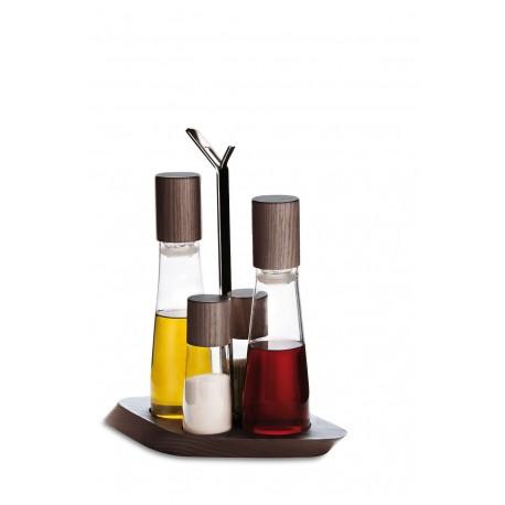 TRATTORIA Zestaw 4 częściowy Olej/ocet + sól i pieprz