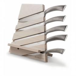 TRATTORIA Blok z 5 nożami Ergo