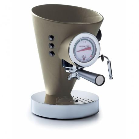 DIVA Ekspres do kawy w kremowej skórze