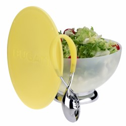 Primavera - Salaterka + cytrynowa pokrywa/deska do krojenia