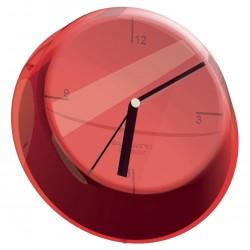 GLAMOUR zegar ścienny czerwony
