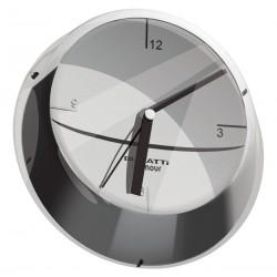 GLAMOUR zegar ścienny chrom