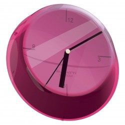 GLAMOUR zegar ścienny fioletowy