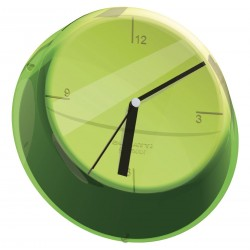 GLAMOUR zegar ścienny zielony