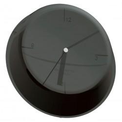GLAMOUR zegar ścienny czarny