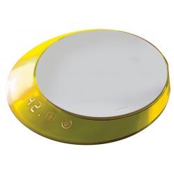 GLAMOUR waga elektroniczna żółta