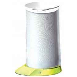 GLAMOUR stojak na ręczniki papierowe żółty