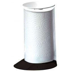 GLAMOUR stojak na ręczniki papierowe czarny