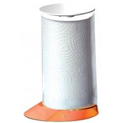 GLAMOUR stojak na ręczniki papierowe pomarańczowy