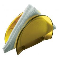GLAMOUR serwetnik żółty