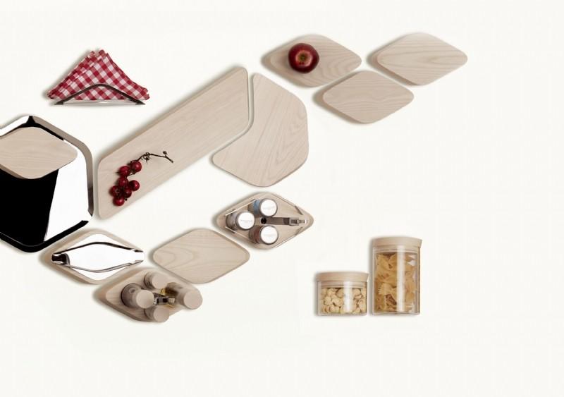 Trattoria - kolekcja drewnianych akcesoriów do kuchni i na stół